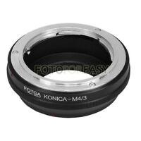 FOTGA Konica AR lens to Micro 4/3 M4/3 Adapter EPL6 E-P5 E-M5 G2 G5 GF5 OM-D GM1
