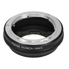 FOTGA Konica AR lens to Micro 4/3 M4/3 EP1 GF1 G1 G2 GH1 G3 GF6 EM5 EPL5 Adapter