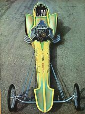 1966 Great Magazine Pic of Don Tognotti's Bushwhacker AA/FD Dragster