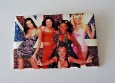 "Vintage Spice Girls Pin 1997 UK Viva Forever 2"" x 3"" Button Pin"