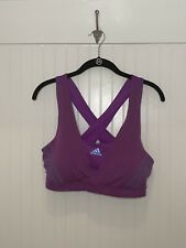 Adidas Supernova Purple Sports Bra Size Large