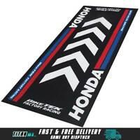 Biketek Garage Pit Mat Workshop Honda Motocross Motorcycle Mat 190 X 80cm