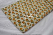 3 Yard Multi Hand block Print Running Loose Cotton Fabrics Printed Decor New_19