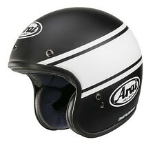 Casco jet ARAI FREEWAY CLASSIC NEW MODEL BANDAGE BLACK - AR9930BB - taglia m