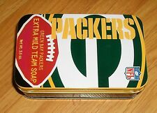 GREEN BAY PACKER SOAP IN TIN ( EXTRA MILD TEAM SOAP)