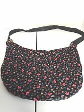 HAND MADE  HIPPIE BAG PURSE/ NEVER USED/ FLOWER POWER