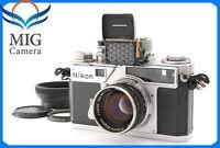 【EXC+++++】Nikon SP Rangefinder camera w/ 50mm F/1.4 + Light meter From Japan 572