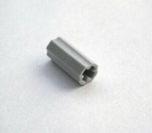 010 Lego Technic 4x 4512360 Achsverbinder mit x Loch + Ausrichtung grau NEUWARE