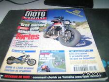 *** Moto Magazine n°139 Voxan Made in France / BMW R 1200 Cruiser