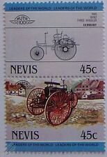 1885 BENZ THREE WHEELER Car Stamps (Leaders of the World / Auto 100)