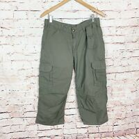 Carhartt Cropped Cargo Pants Womens Size 8