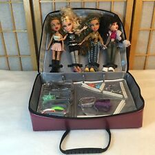 Bratz Dolls Shoes Clothes Accessories Carrying Case Travel Play Set Lot