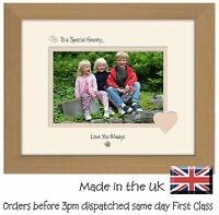 Special Granny Photo Frame Gift Sentiment 6x4 LSHT Photos in a Word
