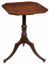 SWC-Cherry Federal Candlestand, probably CT, c.1800