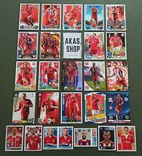Franck Ribery Lot Sammlung FC Bayern München Sammelkarten und Sticker 2009-2020