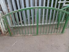 STEEL ARCHED FENCE WALL PANELS X7 HEAVY DUTY HAND MADE STEEL GALVANISED