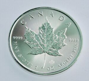 2020 1 oz Canadian Silver Maple Leaf Coin .9999 Fine Silver -BU #303