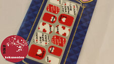 STICKERS AUTOCOLLANT POUR ONGLES NAIL ART 3D JAPONAIS JAPANESE MADE IN JAPAN