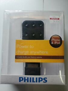 Brand New Philips DLM2260/17 Attachable Battery Pack for iPhone and iPod