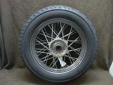 02 2002 YAMAHA XVS1100 XVS 1100 V-STAR WHEEL RIM & TIRE, FRONT #YJ27
