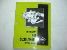 Mack Mid-Liner Truck Air Suspension Factory Service Repair Shop Manual MLS 7.3