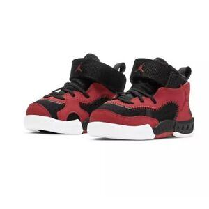 Jordan Pro RX Basketball Shoes Gym Red White Black Toddler Boys Size 9C NEW