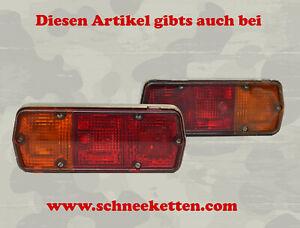 2 Stück Rücklicht Rücklichter Unimog Iltis Magirus Anhänger Bundeswehr