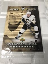2005//2006 Upper Deck Sidney Crosby Phenomenal Beginnings Gold 21 Card Rookie Card Set w//Jumbo Card