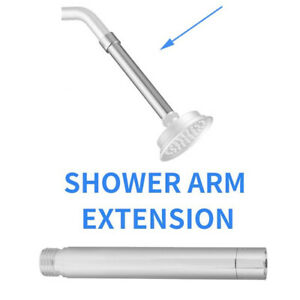 BL_ TH_ 4inch Stainless Steel Extension Tube Handheld Bathroom Shower  Exten