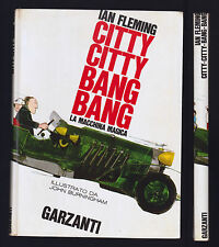 IAN FLEMING CITTY CITTY BANG BANG LA MACCHINA MAGICA GARZANTI 1965 BURNIGHAM