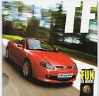 NAC MG TF 2008-12 UK Market Sales Brochure 135 LE500