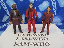 Dr Who 10th doctor Rojo Traje Espacial-Laszlo-Espantapájaros Figuras de Acción LOTE PAQUETE
