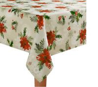 St. Nicholas Square Botanical Toss Tablecloth Color: Multi, Size: 60X84 Oblong