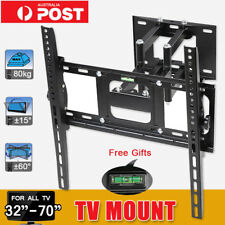 TV Bracket Wall Mount Swivel Arms Strong Stable Support 80KG 32-70 Inch LCD LED
