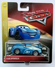 Disney Pixar Cars 3 CAM SPINNER  Next Gen  TRIPLE DENT  Over 100 Cars Listed !!