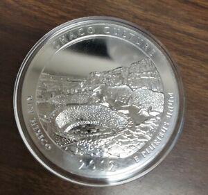 2012 America the Beautiful 5 Oz Silver Quarter Chaco Culture New Mexico