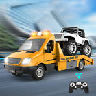Rechargeable RC Truck Toys Toys Model Construction Transporter for Child