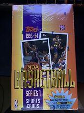 1993-94 TOPPS BASKETBALL Series 1 FACTORY SEALED Box - Possible SHAQ/JORDAN