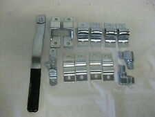 Trailer Ramp Door Bar Lock Latch Assembly  Enclosed Rear Utility Cargo Zinc