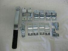 Trailer Ramp Door Bar Lock Latch Set  Enclosed Rear Utility Cargo Zinc BL401Z