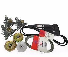 "Craftsman 44"" Deck Lawn Tractor Mower Deck Rebuild Kit Belts Spindles"