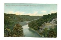 Postcard - Genesee River Gorge View from Driving Park Avenue Bridge Rochester NY