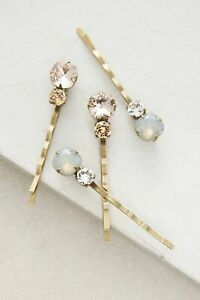 Anthropologie Celestial Drops Bobby Pin Set-$38 MSRP
