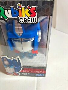 Transformers Optimus Prime Rubik's Crew  Big Head Game by Hasbro New in Box