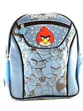 "Rovio Angry Birds Boys & Girls 12"" Canvas Shine Blue School Backpack"