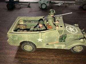 RARE King and country US Army BBA016 M3A1 white scout car