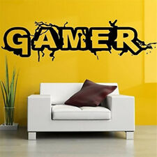 EG_ Gamer Console Joystick Wall Sticker Boy Video Game Bedroom Room Decor Decal