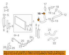 Toyota OEM Radiator Lower Hose Clamp 90466-35001 Factory Sold Individually