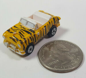 Ford '51 Crown Victoria Yellow Tiger Galoob Micro Machines LGTI Rare Vintage