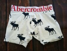 ABERCROMBIE & FITCH MOOSE BOXER BRIEF MENS UNDERWEAR SIZE M